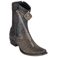 Men's King Exotic Caiman Belly Boots Dubai Toe Handcrafted 479B8235