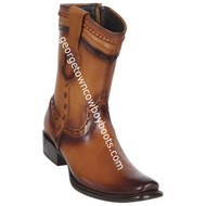 Men's King Exotic Leather Boots Dubai Toe Handcrafted 479B3880