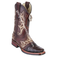 Men's King Exotic Caiman Belly Boots With Saddle Vamp Handmade 48118207