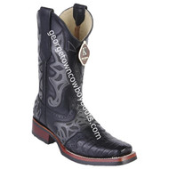 Men's King Exotic Caiman Belly Boots With Saddle Vamp Handmade 48118205