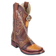 Men's King Exotic Caiman Belly Boots With Saddle Vamp Handmade 48118202