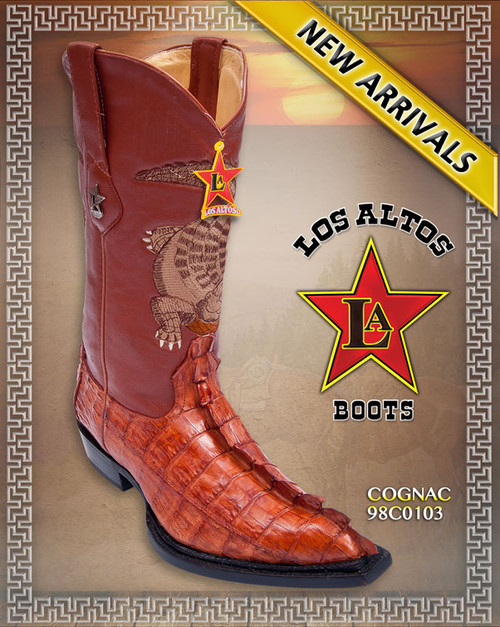 Big Tail Caiman Cowboy Boots, The Monster Boots 98C0103
