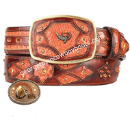 King Exotic Caiman Belly Western Fashion Belt Handcrafted 4C11F8257