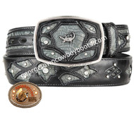King Exotic Caiman Belly Western Fashion Belt Handcrafted 4C11F8238