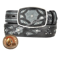 King Exotic Ostrich Western Fashion Belt Handcrafted 4C11F0338