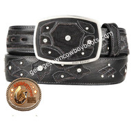 King Exotic Elephant Western Fashion Belt Handcrafted 4C11F7005