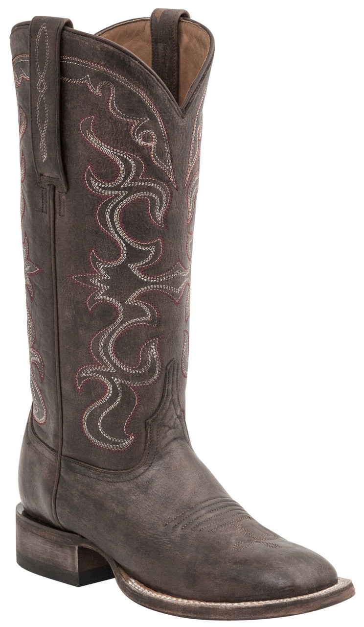 14b956317f5 Lucchese Since 1883 Womens Western Coralee Maple Distressed Cowhide Leather  M4900