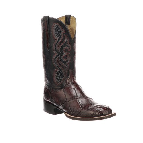 Roy Lucchese Giant Gator Horseman boots CL1071