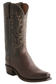 Lucchese Heritage Mens Sienna And Tobacco Goat Leather Cowboy Boots N9578