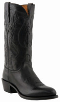 """Lucchese Since 1883 Mens Western with """"Perez"""" Cord Design Black Ranch Hand M1006"""