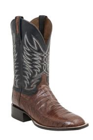 Lucchese Since 1883 Mens Western Logan Sienna Caiman Belly Tail M2664