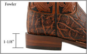 Lucchese F-Heel ( Fowler )