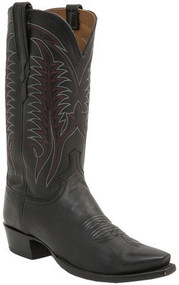 Lucchese Heritage Mens Black Burnished Mad Dog Goat HL1507