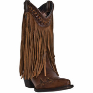 Dingo Womens Fringes Fashion Western Boots DI7445