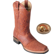 Los Altos Elephant Skin Mens Square Toe Boots 8167003