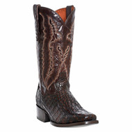DP2374 Lagoon Mens Black/Brown Caiman Western Cowboy Boots by Dan Post