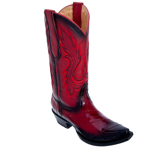 Los Altos Womens Faded Red Boots 34D0829