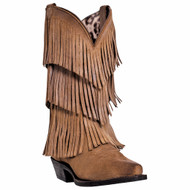 Dingo Womens Fringes Fashion Western Boots DI7442