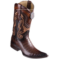 Men's Los Altos Caiman Belly Boots 3X Toe Handcrafted 9538216