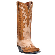 Mae by Dan Post Womens Western Boots Tan and Bone DP3751