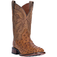 Dan Post Alamosa Full Quill Ostrich Boot