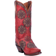 Dan Post Circus Flower Leather Boot DP3763