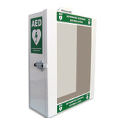 Standard wall cabinet for HeartSine 500P