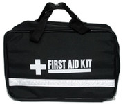 Large 'Brief Case' Style - Zip Out First Aid Kit EMPTY