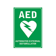 Signage - Wall Sign - only with AED purchase