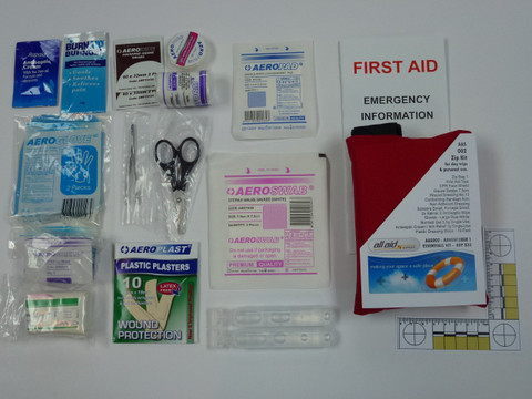 Essentials 1 Kit with contents on display