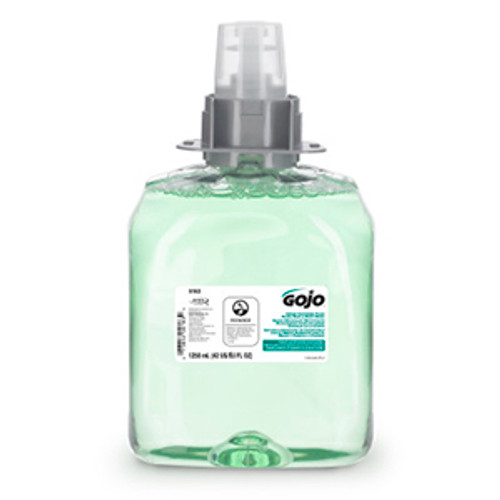 Gojo FMX-12 1250ml Green Certified Foam Hand, Hair & Body Wash Refills (Case of 3)