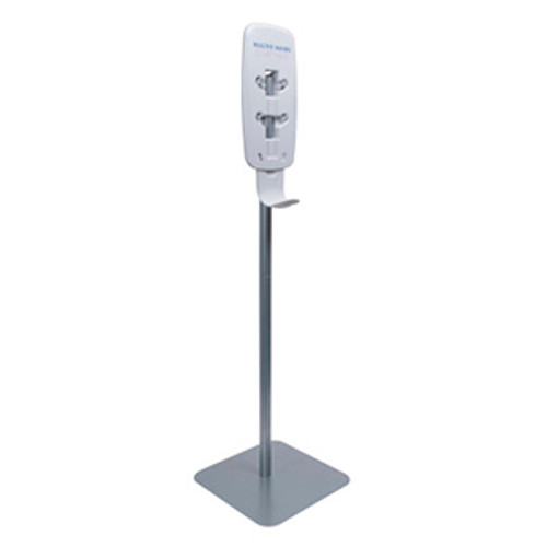 Purell LTX and TFX Floor Stand Sanitizing Station - Silver Matte