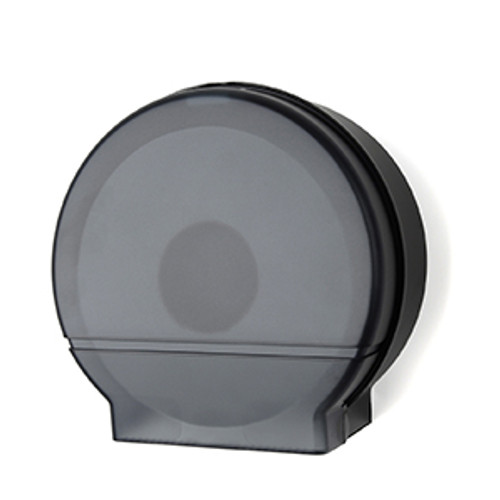 "Palmer Fixture Single 9"" Jumbo Tissue Dispenser - Black Translucent"