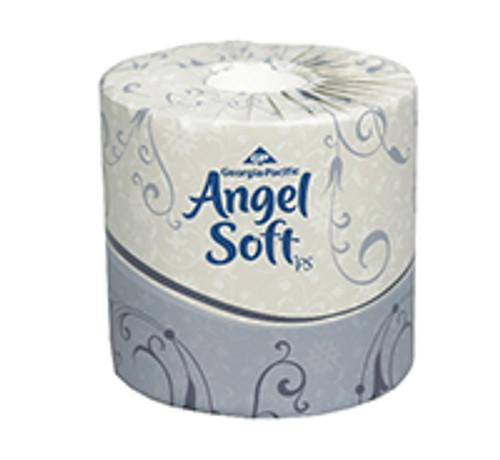 Angel Soft Professional Series Premium Standard Two-Ply Bathroom Tissue Rolls (Case of 40)