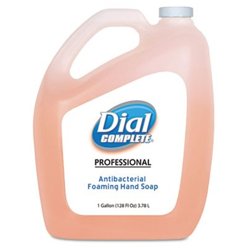Dial Complete Antibacterial Foaming Handwash Gallons (Case of 4)