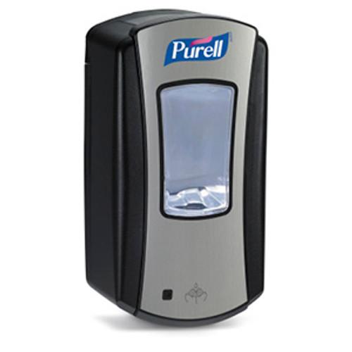 Purell LTX-12 Touchfree 1200ml Hand Sanitizer Dispenser - Chrome/Black