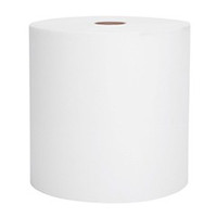 "Scott  8"" x 400ft Hard Roll Towels - White (Case of 12)"