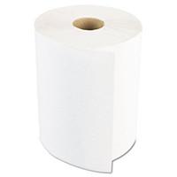 """Boardwalk 8"""" x 800ft Hard Roll Towels - White (Case of 6)"""