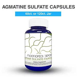 Shop Agmatine Sulfate Capsules