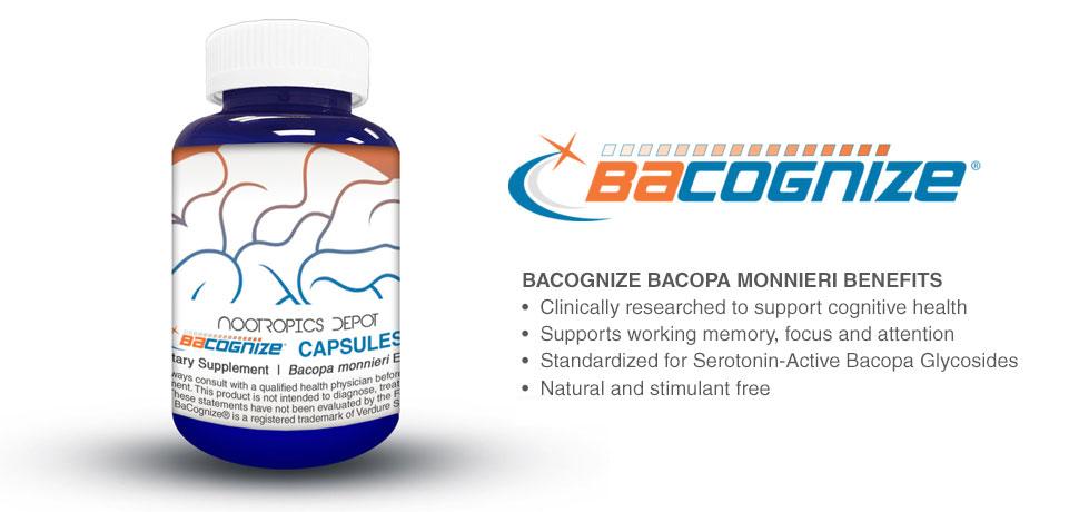 Bacognize Bacopa monnieri Benefits