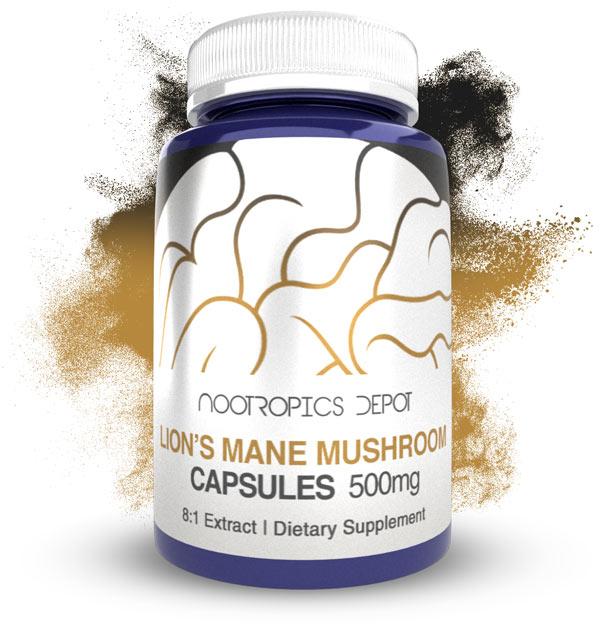 Buy Lion's Mane Mushroom 8:1 Extract Capsules