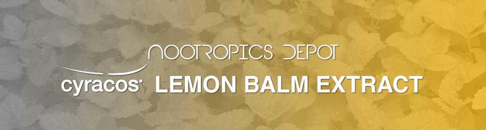 Cyracos Lemon Balm Capsules