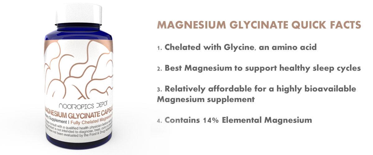 Magnesium Glycinate Quick Facts