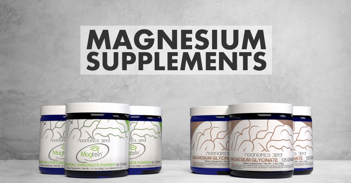 Magnesium Supplements: Comparing Magnesium L-Threonate vs. Magnesium Glycinate