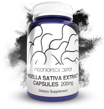 Buy Nigella Sativa Extract Capsules (Black Seed Oil)