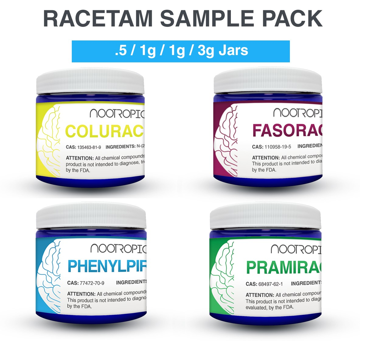 Nootropic Sample Packs