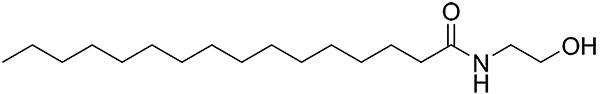 Palmitoylethanolamide Structure