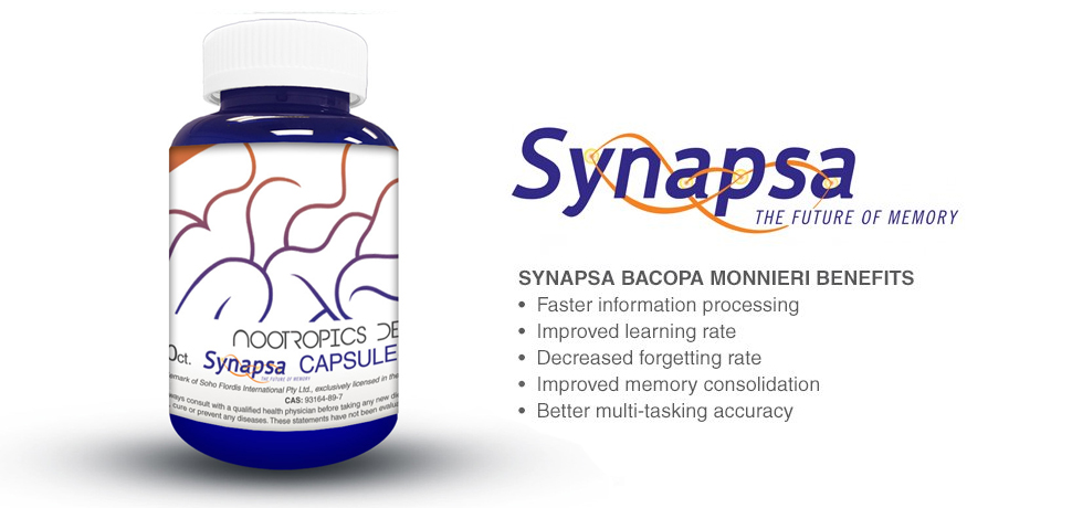 Synapsa Bacopa monnieri Benefits