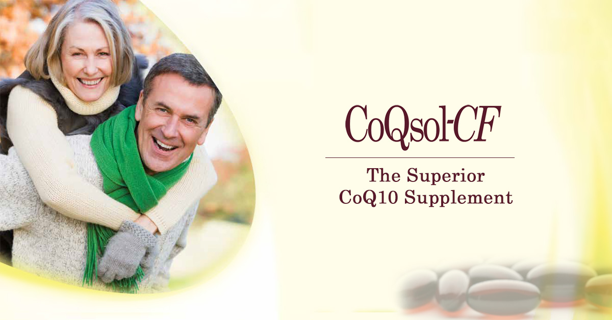 CoQSol-CF CoEnzyme Q10: The Superior CoQ10 Supplement Over Grocery Store Brands