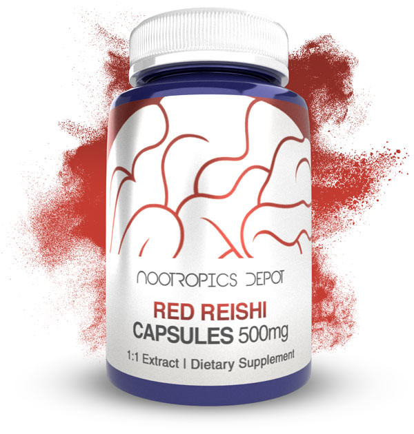 Buy Red Reishi 1:1 Extract Capsules